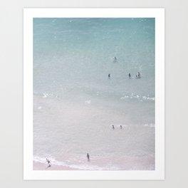 Beach dreams II Art Print