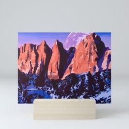 Mount Whitney Mini Art Print