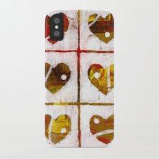 Nine hearts iPhone X Slim Case