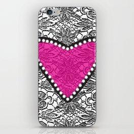 Lacy Love iPhone Skin
