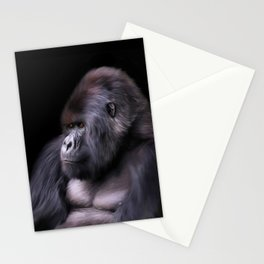 Mountain Gorilla Stationery Cards