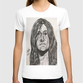 Psychedelic lines T-shirt