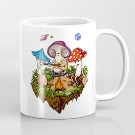 Magic Mushrooms Hippie Fungi Coffee Mug
