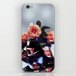 The Floral Awakens - Darth Vader iPhone Skin