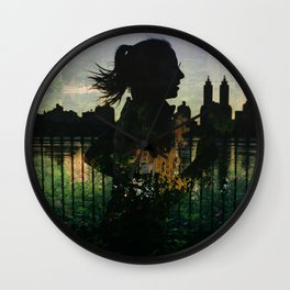 Central Park running Wall Clock