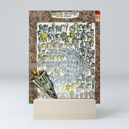 LOCUS SOLUS. Tribute to Raymond Roussel Mini Art Print
