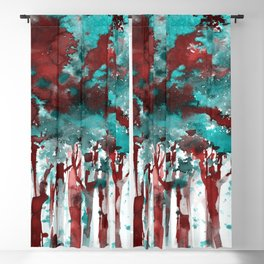 Song Of The Trees 9f by Kathy Morton Stanion Blackout Curtain