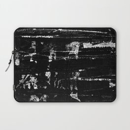 Distressed Grunge 102 in B&W Laptop Sleeve