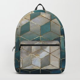 Blue Deco Backpack