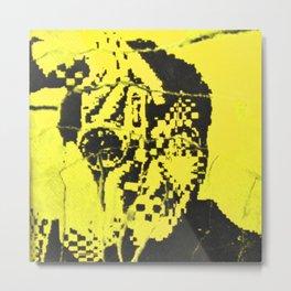 Pecker Portrait in yellow | John Waters Metal Print