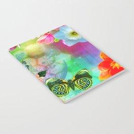 Floral Fantasy 9 Notebook