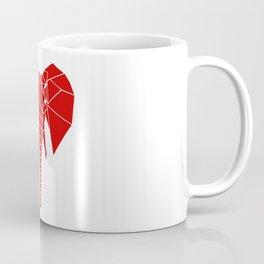 RED Elphant Coffee Mug