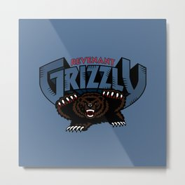 Revenant Grizzly Metal Print
