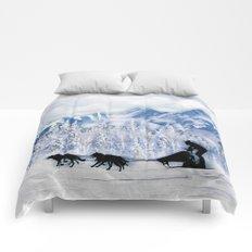 Dogsledding Comforters