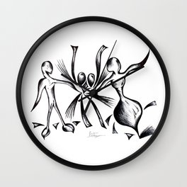 LOVE ILLUSION Wall Clock