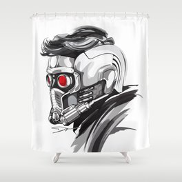 Star Lord Shower Curtain