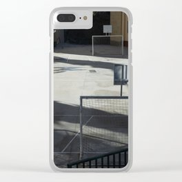 Sport is Dead Clear iPhone Case