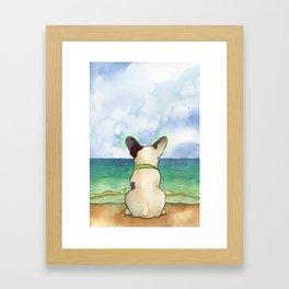 Bubba Vibes Framed Art Print