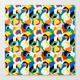 Summer Colour Print Canvas Print
