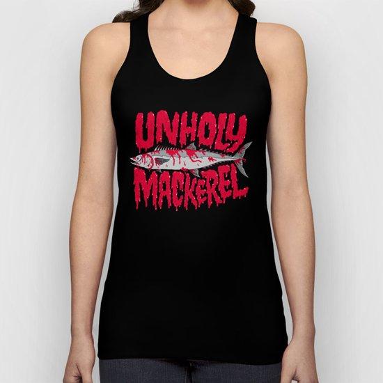 UNHOLY MACKEREL Unisex Tank Top