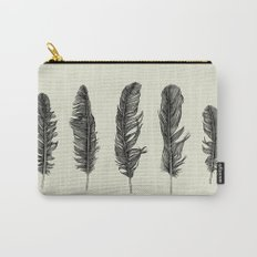 Lucky Five Feathers Carry-All Pouch