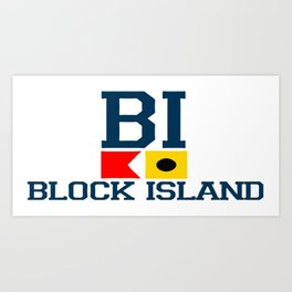 Block Island - Rhode Island. Art Print