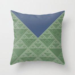 a+b+c+ac+abc (mod 4) Throw Pillow