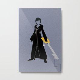 Xion Metal Print