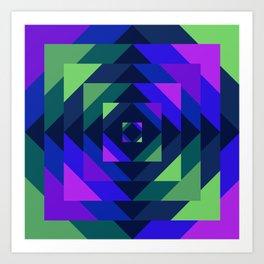 Bayer I Art Print
