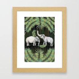 The Elephant Queens Framed Art Print