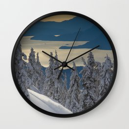 LIMITED EDITION (Almost sold out)  - KEVIN SANSALONE / HOWE SOUND SQUAMISH BC Wall Clock