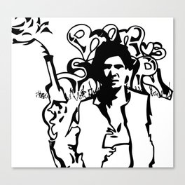 Han Loves Stimpy Canvas Print
