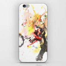 Mario Throwing Fireball iPhone & iPod Skin