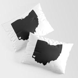 Cincinnati, Ohio, Home Pillow Sham