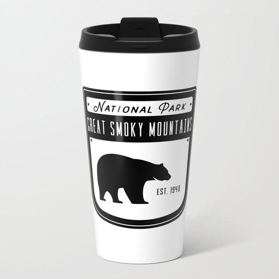 Great Smoky Mountains Metal Travel Mug