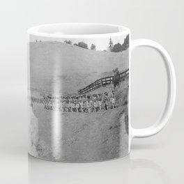 World War I Camp Fremont Solders in Palo Alto Coffee Mug