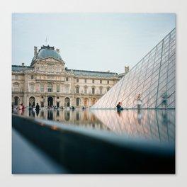 The Louvre - Paris, France Canvas Print