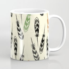 Feather Falling Coffee Mug