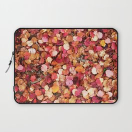 Christmas Leaves in Sonoma County Laptop Sleeve