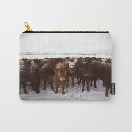 Herd Of Cows Carry-All Pouch