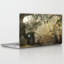 Vintage Mercury Jars Laptop & iPad Skin
