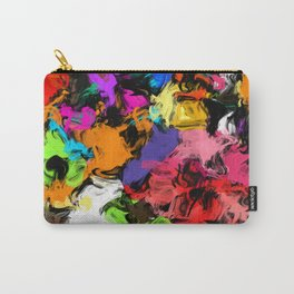 Artistic Messy Abstract Carry-All Pouch