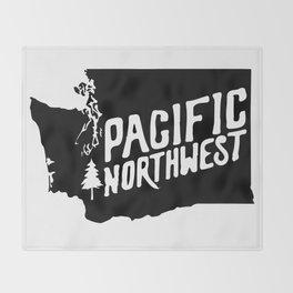 Washington State Throw Blanket