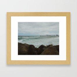 The Spit - Goldcoast, Queensland Framed Art Print