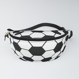 Black and White 3D Ball pattern deign Fanny Pack