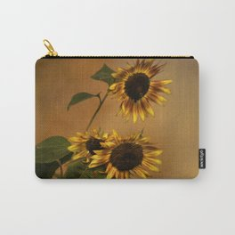 Origin Of Sunflowers Carry-All Pouch