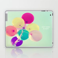 Don't worry, be happy Laptop & iPad Skin