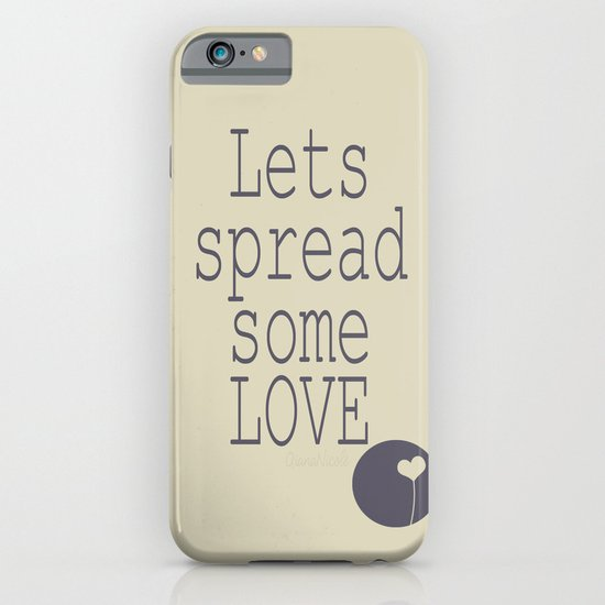 Spread Some LOVE iPhone & iPod Case