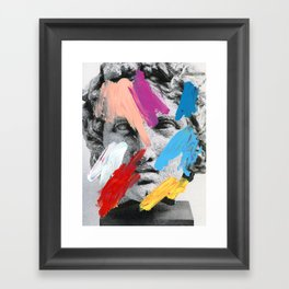 Composition 702 Framed Art Print