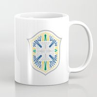brazil Mugs featuring Brazil Crest by George Williams